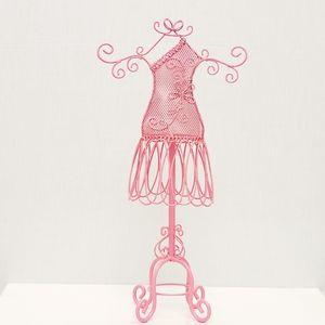 Dress form jewelry stand holder